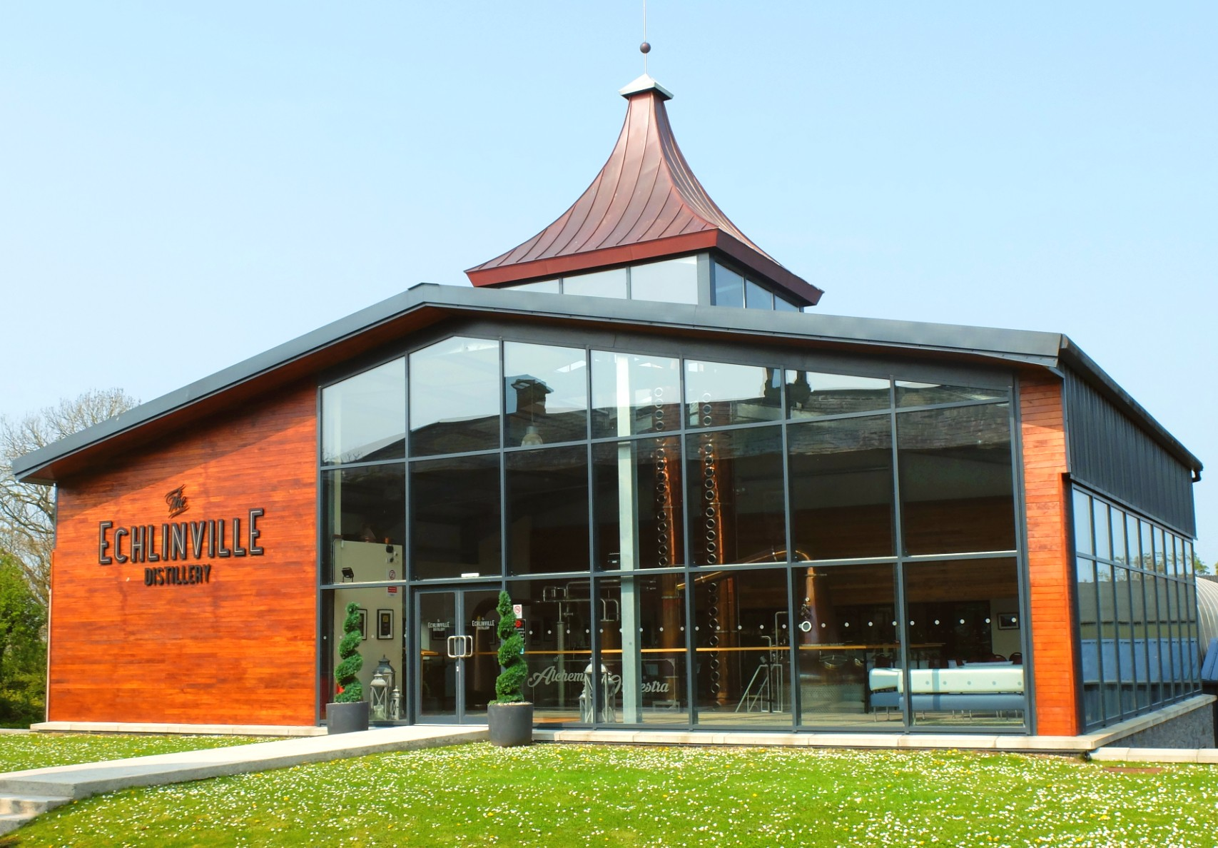 The Echlinville Distillery Stillhouse