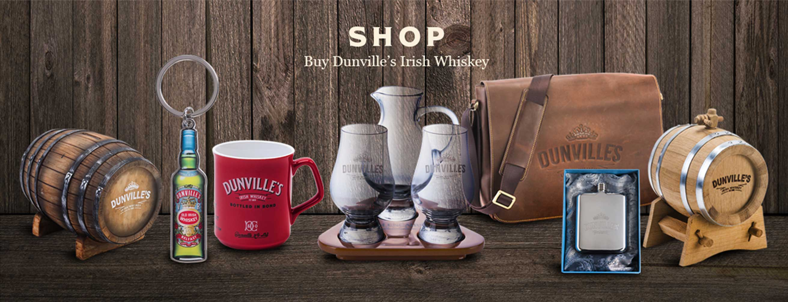 Dunville's Whiskey Shop
