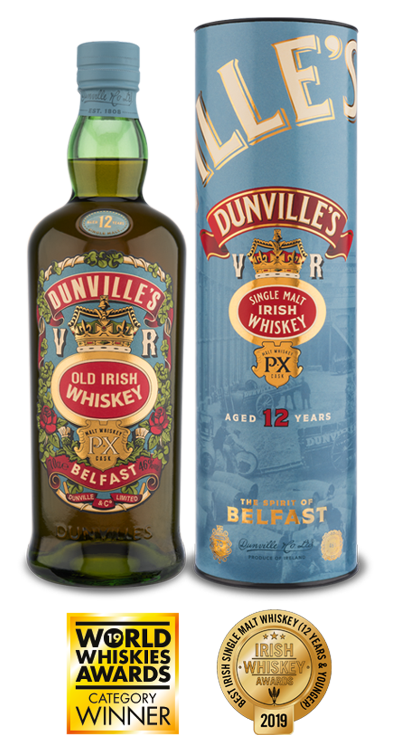 Dunville's PX 12 Year Old Single Malt Irish Whiskey