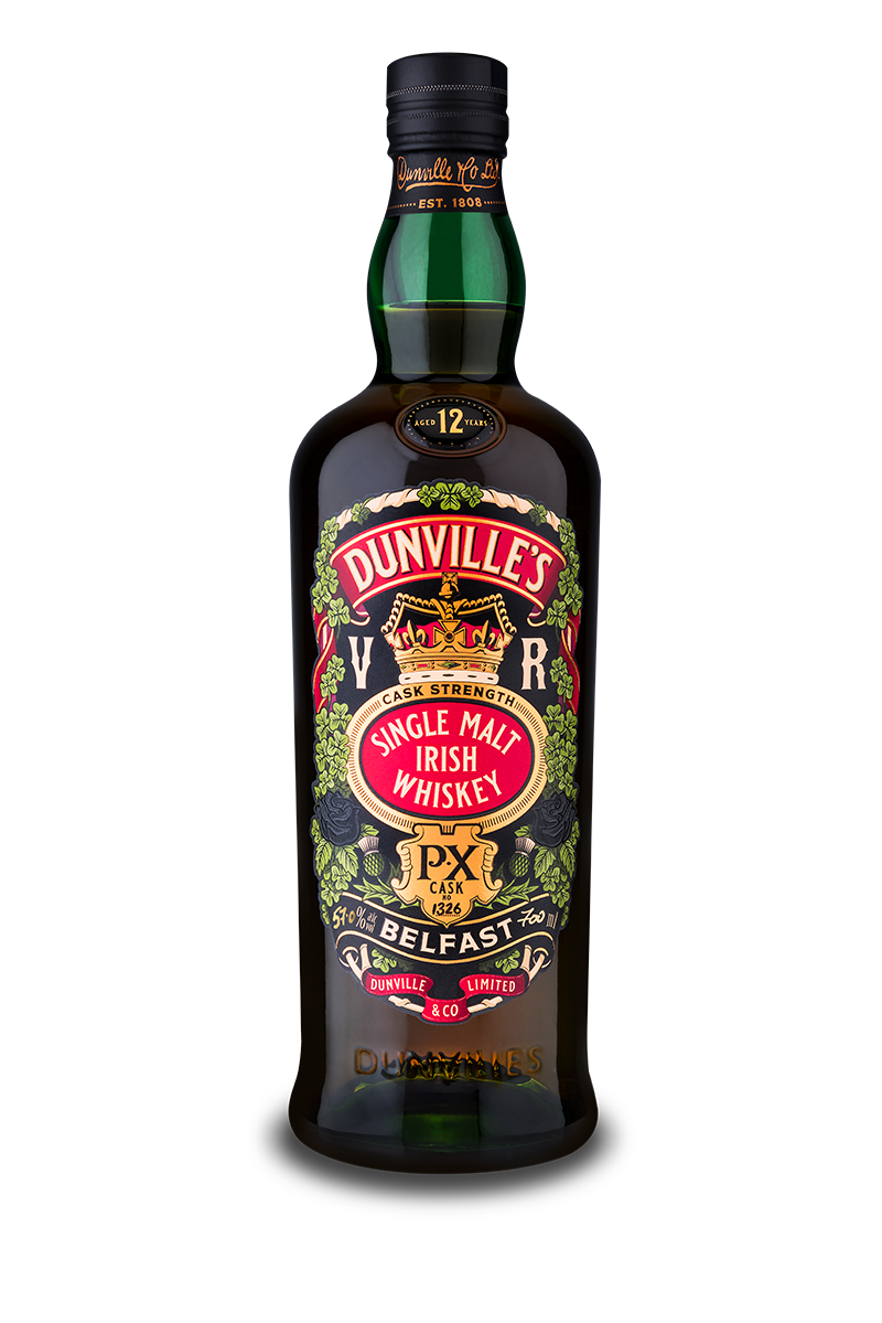Dunville's PX 12 Year Old Cask Strength Irish Whiskey