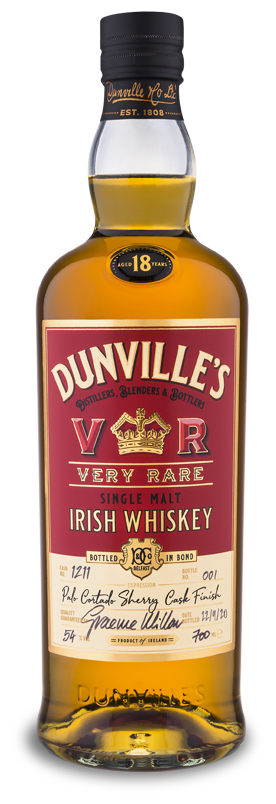 Dunville's Palo Cortado Cask 1211 bottle image