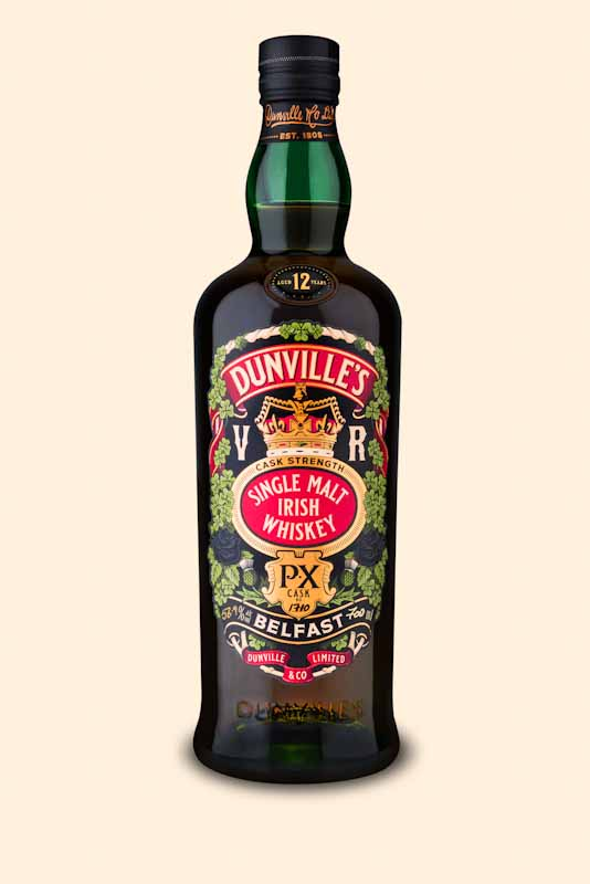 Dunville's PX Cask Strength 1710 bottle 800px